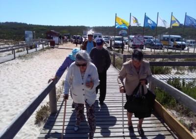Encontro  - Praia do Osso da Baleia