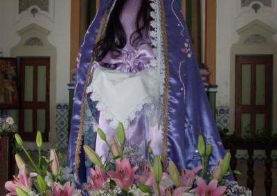 padroeira da instituição, N. Sra. da Soledade