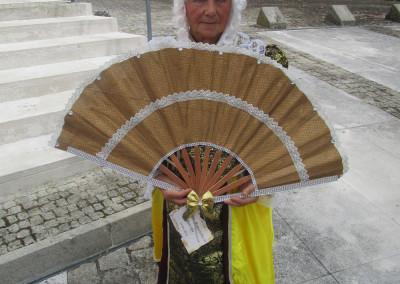 Participação no desfile e leques O Século XVII promovido pelo Município de Pombal