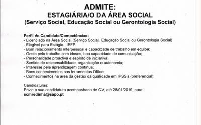 ESTÁGIO NA ÁREA SOCIAL